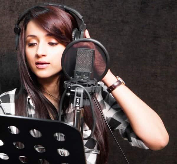 Trisha turns singer for her nextfilm!