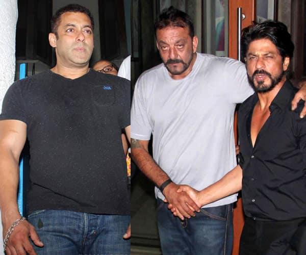 Not Salman Khan, Shah Rukh Khan is Sanjay Dutt's new BFF?