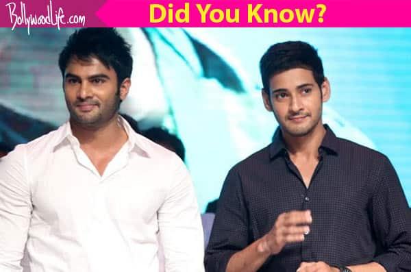 What is the relation between Telugu superstar Mahesh Babu and the Baaghi baddie Sudheer Babu?