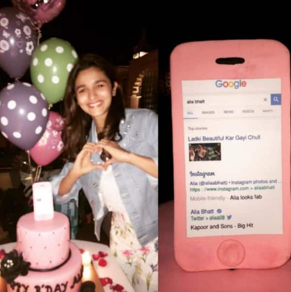 Alia Bhatts Birthday Cake Is Just As Pink And Pretty Like The Diva