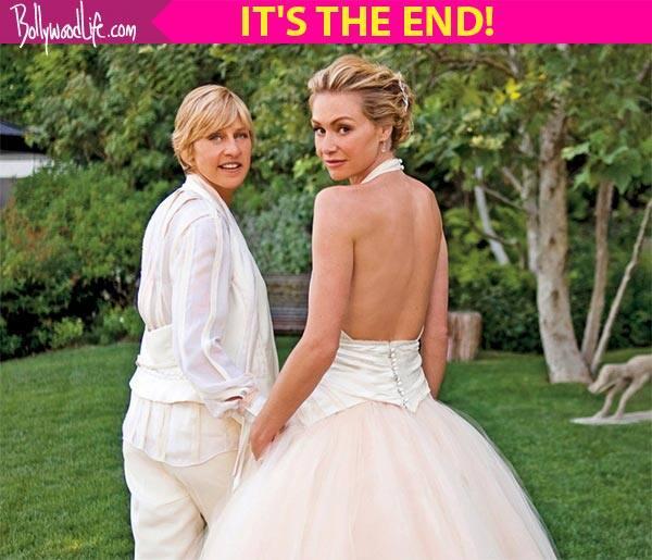 $220 million divorce: Ellen DeGeneres and Portia De Rossi SPLIT!