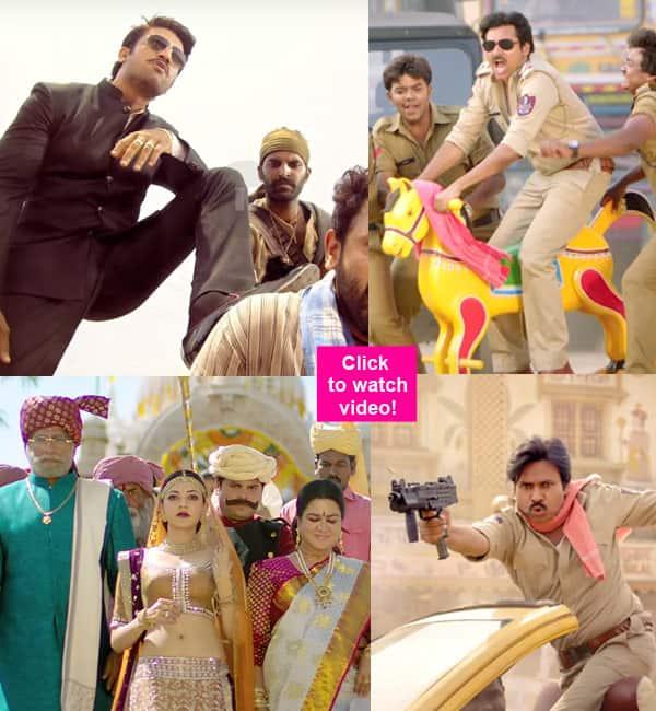 Sardaar Gabbar Singh trailer: Pawan Kalyan's masala entertainer is as cliched as itgets!