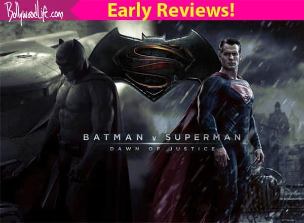 The first reviews for Batman v Superman: Dawn of Justice are OUT! And they all say 'book your tickets ASAP'!