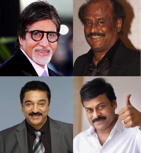 Amitabh Bachchan, Chiranjeevi join Rajinikanth and Kamal Haasan for a cricket match!