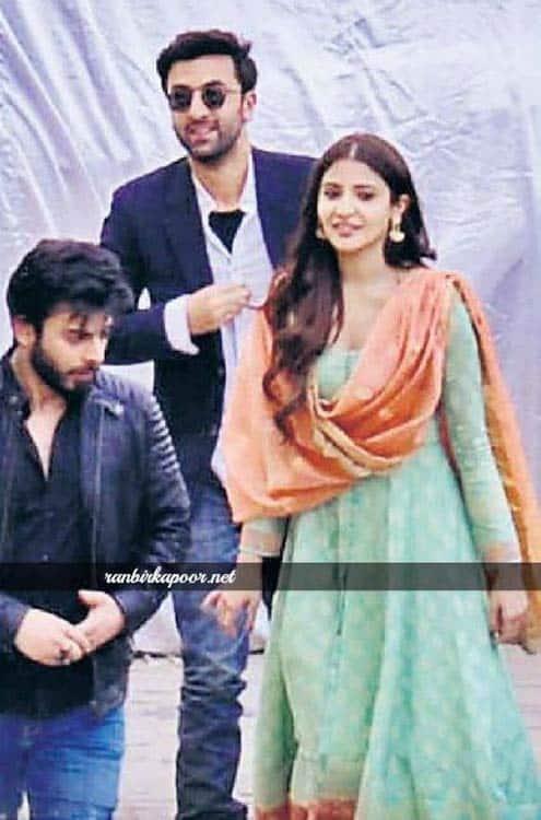 Ranbir Kapoor, Anushka Sharma and Fawad Khan on the sets of Ae Dil Hai Mushkil sets in Rajasthan