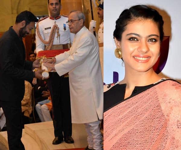 This is how Kajol REACTED on her hubby Ajay Devgn winning Padma Shri award- watch video!