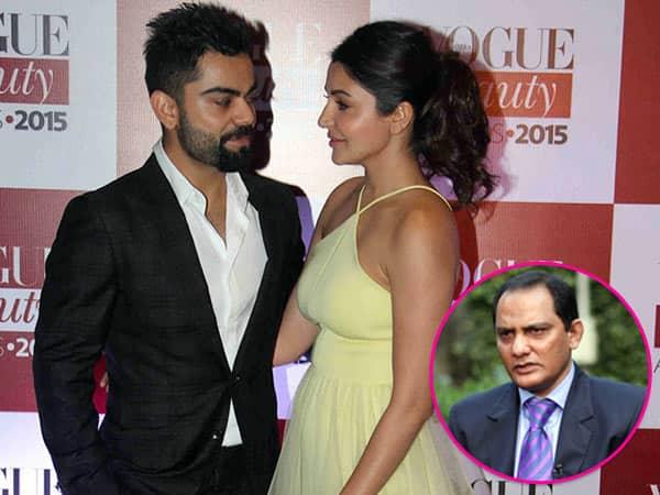 Mohammad Azharuddin blames press for being the villain in Virat Kohli and Anushka Sharma's love story!