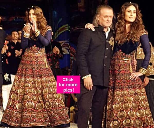 Kareena Kapoor Khan walks the ramp like a PRINCESS for Rohit Bal at Lakme Fashion Week 2016 – view pics!