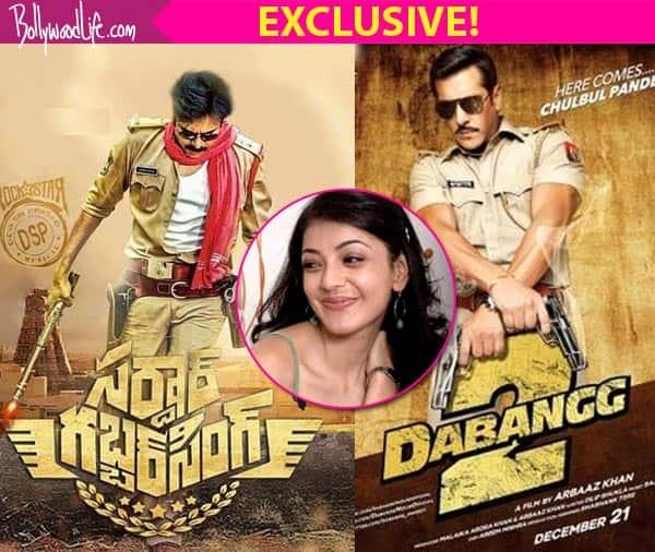 Pawan Kalyan's Sardaar Gabbar Singh NOT a copy of Salman Khan's Dabangg 2, clarifies lead actress Kajal Aggarwal!