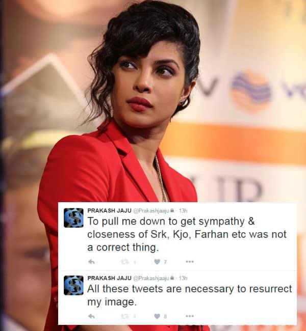 These 13 tweets can REIGNITE the Prakash Jaju-Priyanka Chopra war!