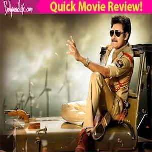 Sardaar Gabbar Singh quick movie review: Pawan Kalyan and Brahmanandam's hilarious antics make it an ENGAGING watch so far!
