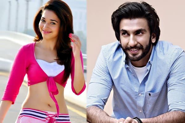 Ranveer Singh to romance Tamannaah Bhatia in Rohit Shetty's next!