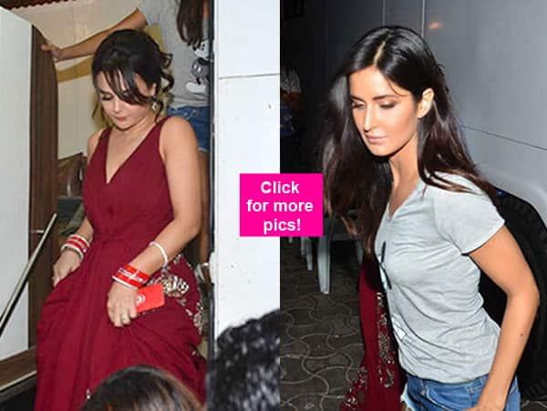 Katrina Kaif and Preity Zinta bond BIG TIME post IPL Opening Ceremony –view pics!