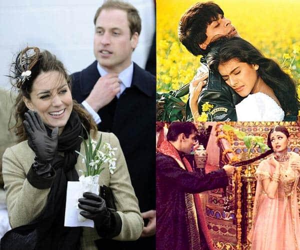 Salman – Aishwarya, Shah Rukh – Kajol: 7 Bollywood photo poses that Prince William and Kate Middleton should give a shot!