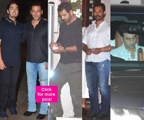 Salman Khan, Aamir Khan, Ranbir Kapoor, John Abraham — Anant Ambani's birthday bash was a star studded affair!