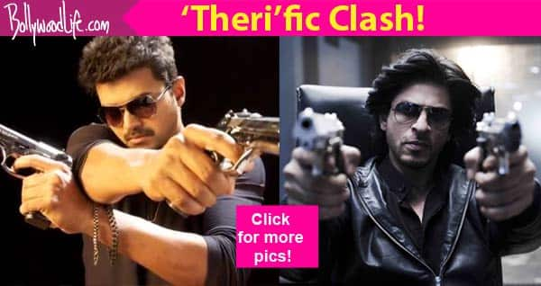 Theri, Fan, Kaththi, Happy New Year- 5 times Vijay locked horns with Shah Rukh Khan!