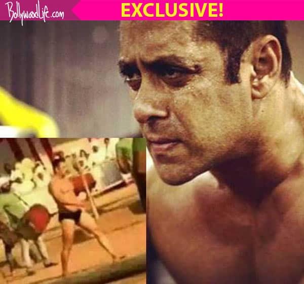 OMG! Salman Khan was NERVOUS shooting in his langot for Sultan!