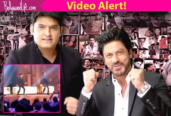 Shah Rukh Khan shows Kapil Sharma how to be a JABRA Fan on The Kapil Sharma Show – watchvideos!
