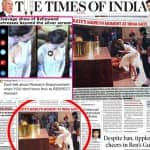 After Deepika Padukone cleavage controversy, TOI faces FLAK for Kate Middleton's Marlyn Monroe front page story!
