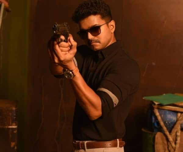 Vijay did not use a body double for action scenes in Theri!