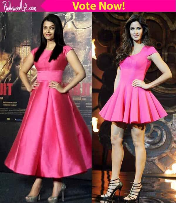Aishwarya Rai Bachchan or Katrina Kaif: Who wore the pretty pink dress BETTER?