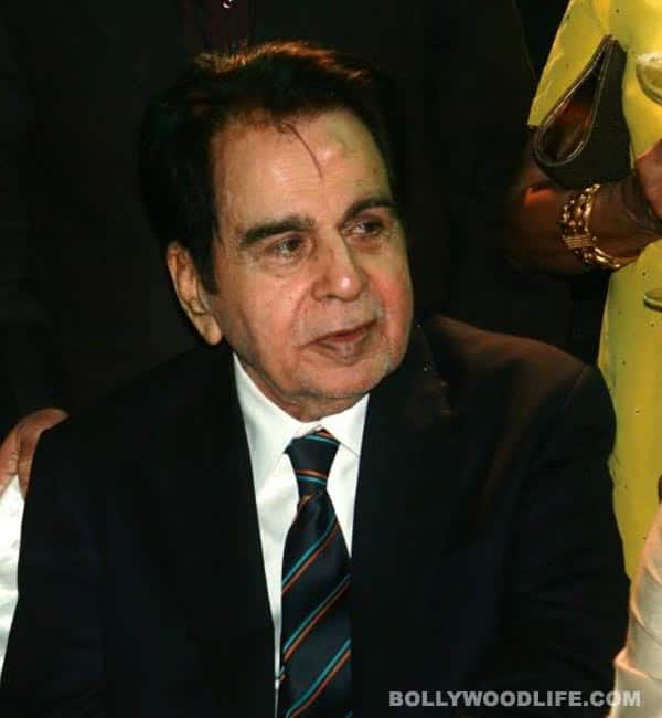 Dilip Kumar admitted to Lilavati Hospital owing to respiratory problems!