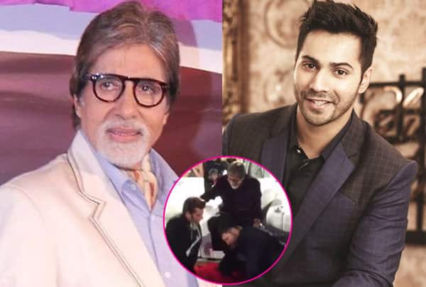 TOIFA 2016: Varun Dhawan and Manish Paul's HILARIOUS act makes Amitabh Bachchan laugh out loud- watch video!