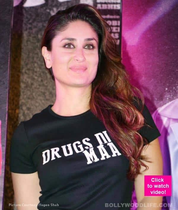 Kareena Kapoor Khan CANNOT stop blushing thanks to her Udta Punjab co-star – watch video!