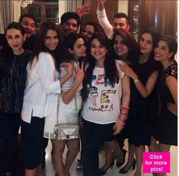 Preity Zinta, Karisma Kapoor, Neetu Kapoor PARTY HARD at Manish Malhotra's residence – view pics!