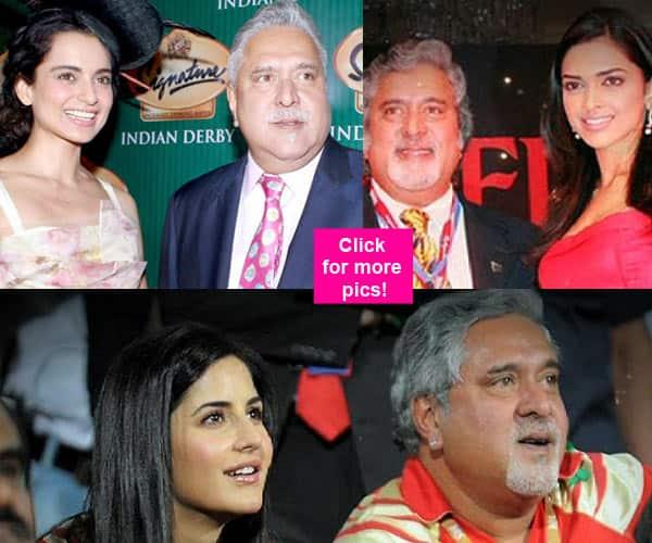 When King of good times Vijay Mallya hung out with Bollywood celebs like Deepika Padukone, Katrina Kaif and more!