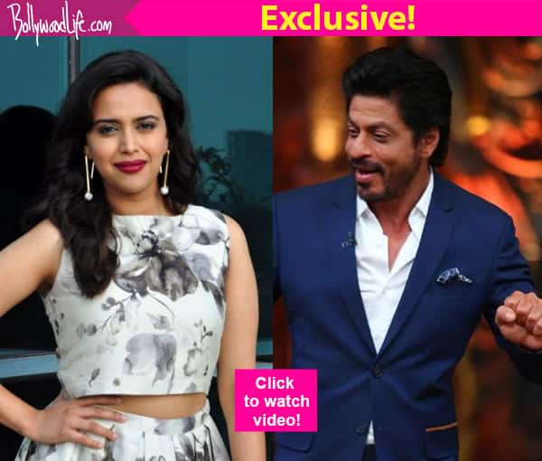 Swara Bhaskar's DREAM is to romance Shah Rukh Khan- Watch video!