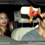 A week before their marriage, Bipasha Basu and Karan Singh Grover look like a perfectly happy couple- view pics!