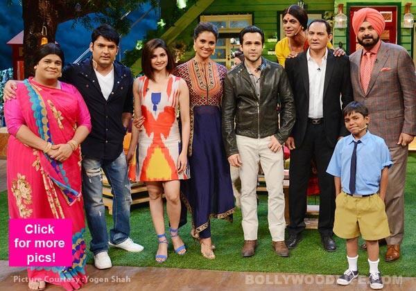The Kapil Sharma Show: Azhar's Emraan Hashmi, Prachi Desai and Lara Dutta  have a blast on the comedy show - v