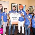 Salman Khan, Mary Kom, Sardar Singh and Apurvi Chandela are all smiles at India's Goodwill Ambassador announcement for the Rio Olympics 2016 – view pics!