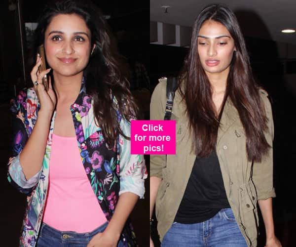 Athiya Shetty, Parineeti Chopra, Kalki Koechlin ROCK the casual look at the airport – view HQ images!