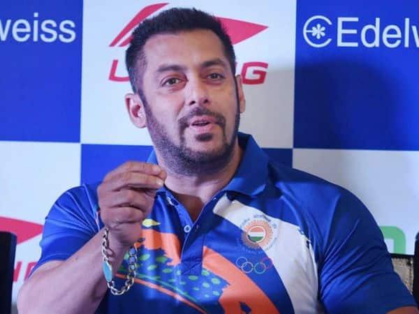 Salman Khan: Having someone like me helps create the BUZZ around the Olympics!