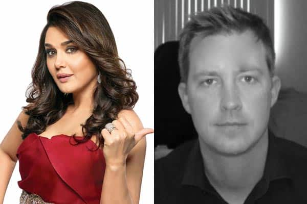 Preity Zinta and Gene Goodenough planning a PARTY for her