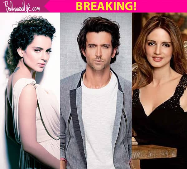 EX-WIFE Sussanne Khan comes out in SUPPORT of Hrithik Roshan in his fight AGAINST Kangana Ranaut!