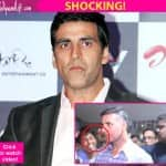 Not done! Akshay Kumar's bodyguard just PUNCHED an innocent  fan in the face - watch video!