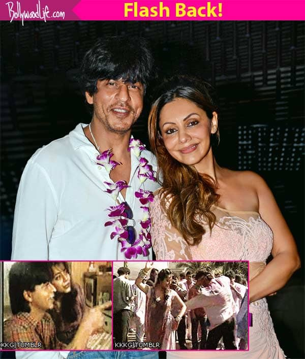 When Shah Rukh Khan and Gauri didn't CARE A DAMN about duniyawale to show their love!