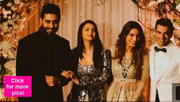 Bipasha Basu – Karan Singh Grover wedding: Shah Rukh Khan, Amitabh Bachchan, Abhishek Bachchan, Rohit Shetty grace the reception – view pics!