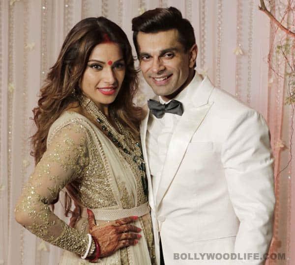 Bipasha Basu and Karan Singh Grover's wedding reception saw the couple go 'monkey'crazy–watch video!