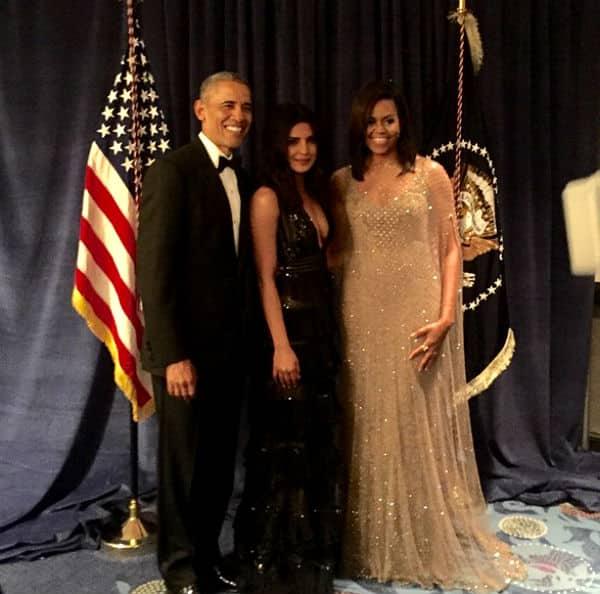 Priyanka Chopra found US President Barack Obama to be very funny andcharming!
