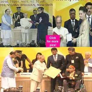 Manoj Kumar, Amitabh Bachchan, Kalki Koechlin receive their National Film Awards!