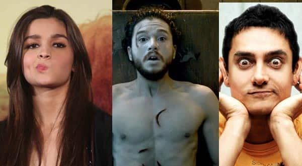 Salman Khan, Aamir Khan, Alia Bhatt; 9 celeb gifs that captured our emotions when Jon Snow was resurrected in Game Of Thrones!