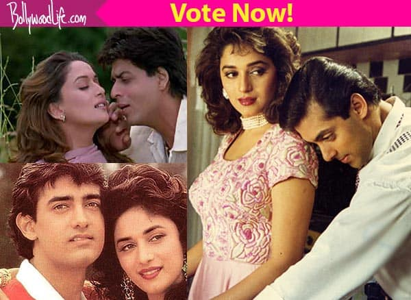 Birthday special: Salman Khan, Shah Rukh Khan, Aamir Khan, Sanjay Dutt – who did Madhuri Dixit look best with? Vote now!