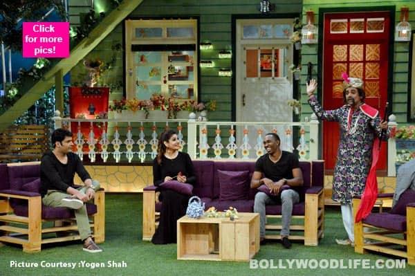 The Kapil Sharma Show: Raveena Tandon and Dwayne Bravo make for an