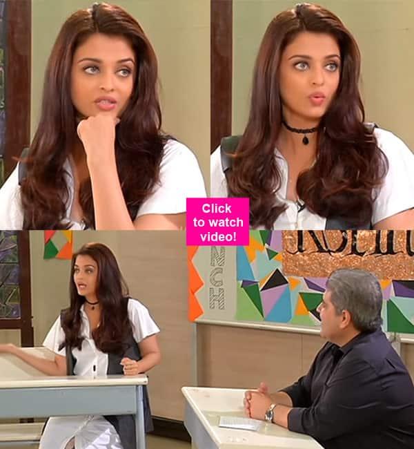 Want to know Aishwarya Rai Bachchan's teenage SECRETS? Watch video!