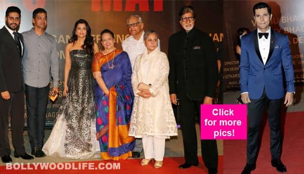 Aishwarya Rai, Abhishek, Amitabh Bachchan and Randeep Hooda LIGHT up the Sarbjit premiere – view HQ Images!