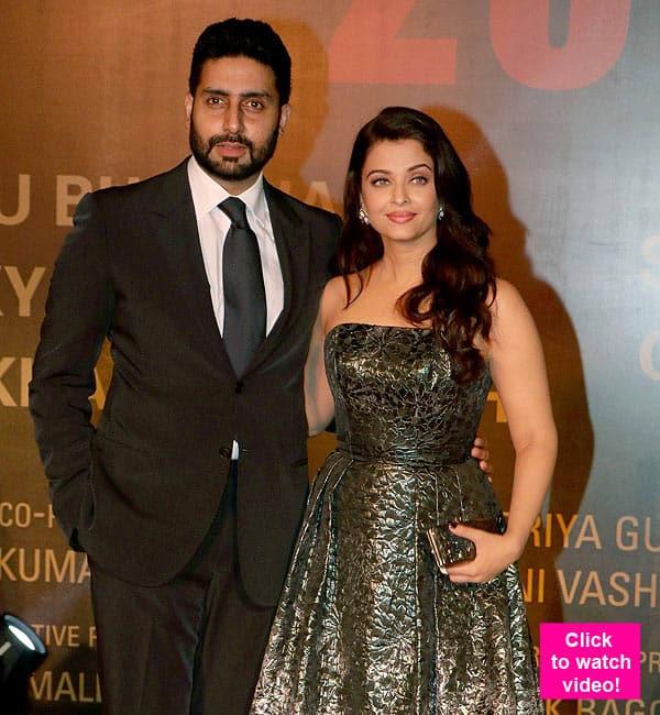 Abhishek Bachchan PISSED With Wife Aishwarya Rai Bachchan At Sarbjit Premiere